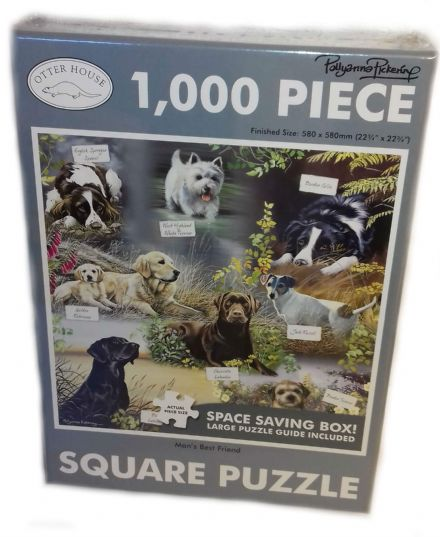 Man's Best Friend Square 1000 Piece Jigsaw